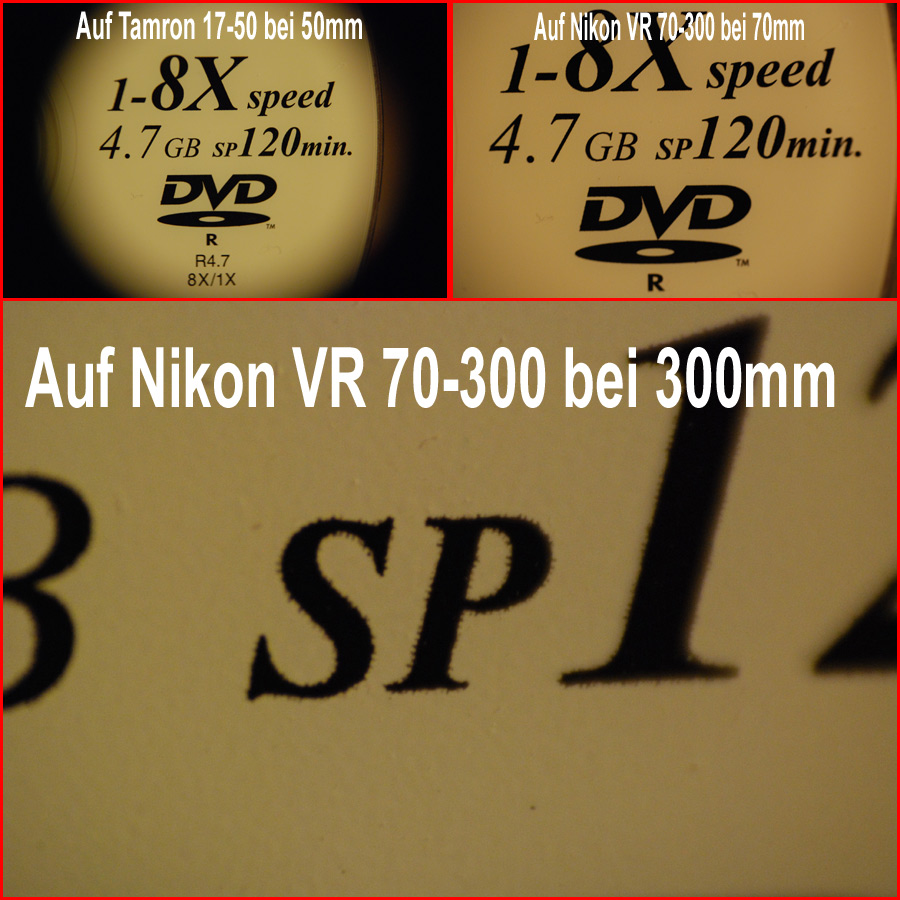 Raynox DCR-150 oder 250 Makro-Vorsatz f�r Nikon D40 ?
