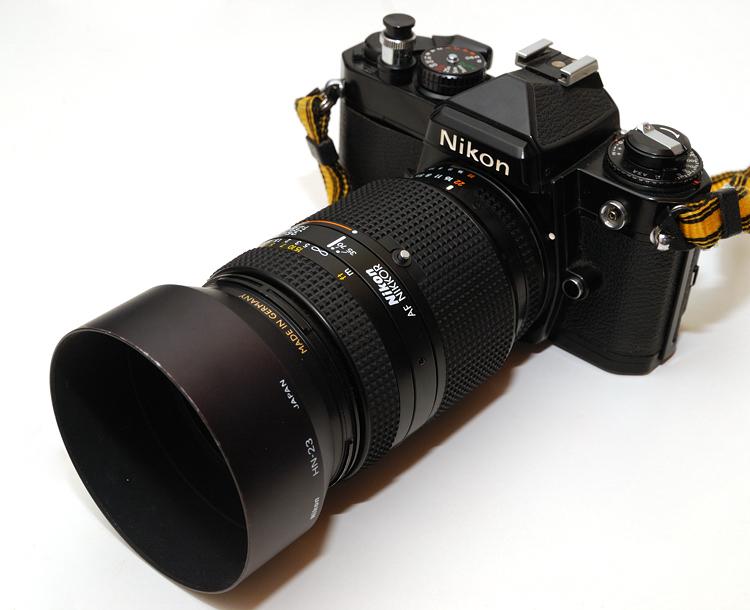 Nikon HB-15 Umbau für 35-70 2,8(D) an DX