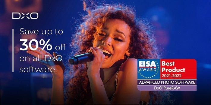 Grafik: DxO PureRaw erhält EISA-Auszeichnung