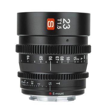 Viltrox Cine-Objektiv S 23 mm T/1.5 mit Sony E-Mount