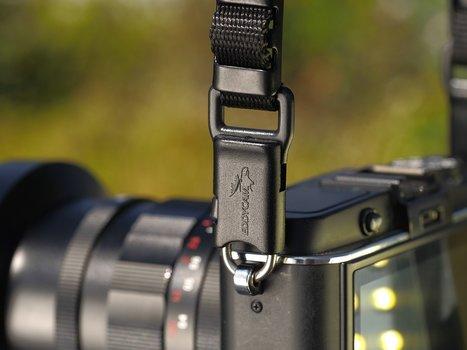 Detailaufnahme: eddyconnection von EDDYCAM an Kameragehäuse montiert