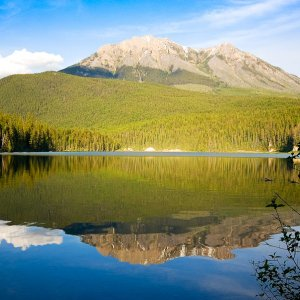 Alces Lake, Whiteswan Lake Provincial Park, British Columbia, Kanada