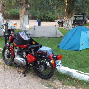 Fes, Camping Hinfahrt